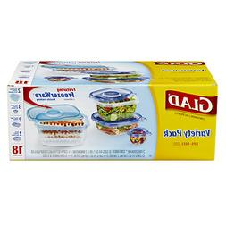 Glad Food Storage Containers, Variety, 18 ea