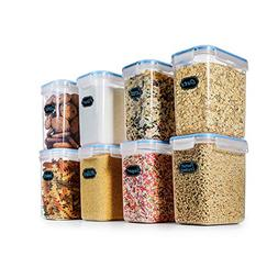 Food Storage Containers Airtight Containers, Estmoon Cereal
