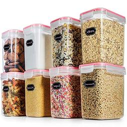 Food Storage Containers Cereal Container - Blingco Set of 8