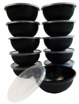 Food Storage Containers for Meal Prep-Microwave, Freezer & D