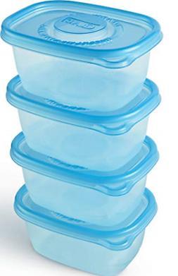 Glad Food Storage Containers - Glad FreezerWare Container -