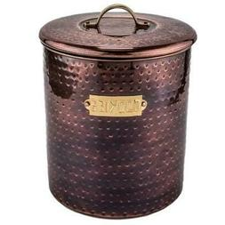 Food Storage Containers Hammered Antique Copper Stainless St