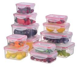 Sealco Food Storage Containers with Lids – Reusable Plasti