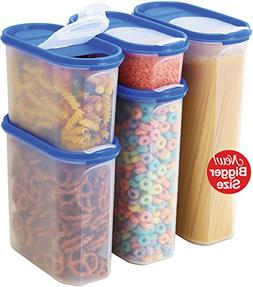 Food Storage Containers Set -STACKO- 10 PC. SET - Airtight D