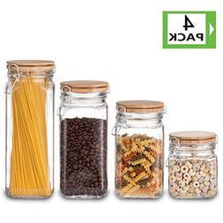 Food Storage Containers Set, Kitchen Storage Jars, Elegant L