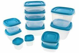 Rubbermaid Food Storage Containers w/Easy Find Lids System 2