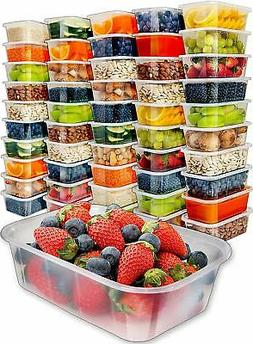 Prep Naturals Food Storage Containers with Lids 50pk25oz - F