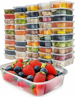 Prep Naturals Food Storage Containers with Lids Food Plastic