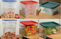 Food Storage Containers with Lids Combo BPA Free, NSF