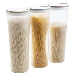 Food Storage Spaghetti Noodle/Pasta Snacks Container With Lo