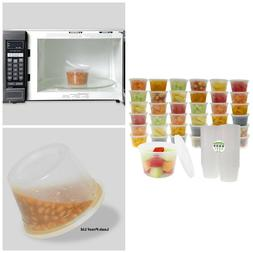 Food Storage With Lid Freezer Air Tight Containers BPA Free