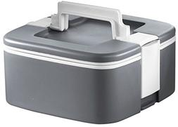 Ozeri FS3-GY Thermomax Stackable Lunch Box Food Storage Cont