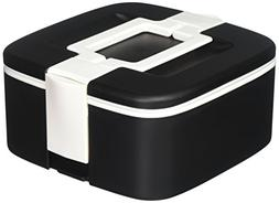Ozeri FS3-BK ThermoMax Stackable Lunch Box Food Storage Cont