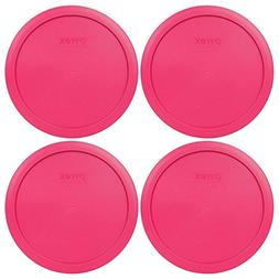 Pyrex 7402-PC 7 Cup Fuchsia Pink Round Plastic Lid