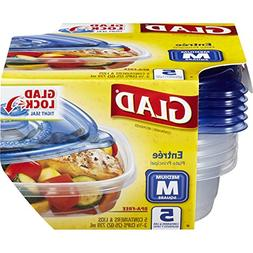 Glad Food Storage Containers - Entree Container - 25 Ounce -