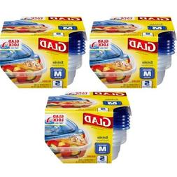 Glad Food Storage Containers - Entree Container - 25 oz - 5