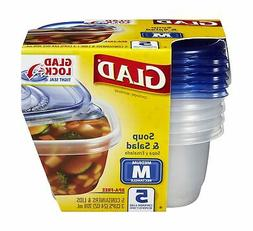 CLO60796 - GladWare Soup and Salad Food Storage Containers