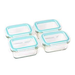 Glass Baby Food Storage Containers with BPA Free Lid – 4 o