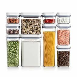 OXO Good Grips 10-Piece Airtight Food Storage POP Container