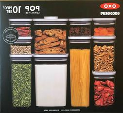 OXO Good Grips 10-Piece Food Storage POP Container Set Airti