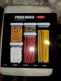 OXO Good Grips 5-Piece POP Container Set New