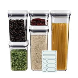 OXO Good Grips 5-Piece Airtight POP Container Set with 5 Lab