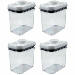 OXO Good Grips POP Rectangle 1.5-Quart Storage Container ,Cl