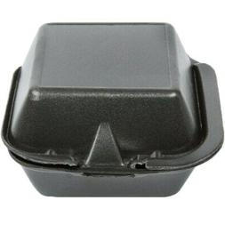 """GenPak Harvest Pro HP225 Hinged Sandwich Containers, 6"""" x 6"""""""