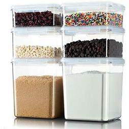 Komax Hikips Food Storage Containers for Dry Food & Baking I