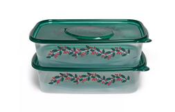 Holiday Container - LOT OF 2  - Up&Up™ | 9-cup Food Storag