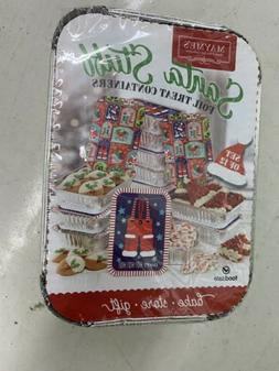 Holiday Foil Treat Containers For Cooking And Food Storage