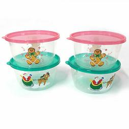 Holiday Storage Container Set of 4