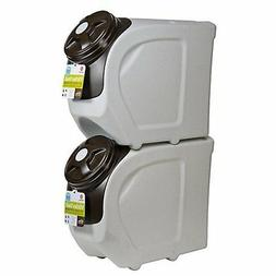 Vittles Vault Home Stackable 45+ lb Airtight Pet Food Storag