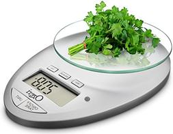 Ozeri Pro II Digital Kitchen Scale, Chrome
