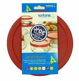 Anchor Hocking Improved 30% Stronger Replacement Lids 1x7cup