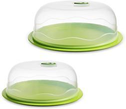 Ozeri Instavac Ready-Serve Domed Food Storage Container, Bpa