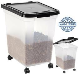 Iris Usa Inc 300585 50 Lb Airtight Pet Food Storage Containe