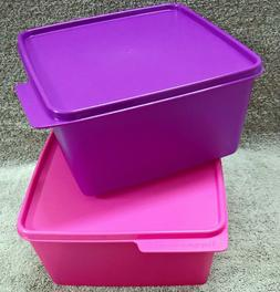 Tupperware - KEEP TAB - LARGE - 2500ml, square containers, M