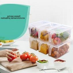 Kitchen Food Crisper Food Container Box Refrigerator Storage