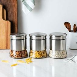 Kitchen Food Storage Organization Container Stainless Steel