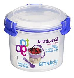 Sistema Klip It Collection Breakfast Bowl To Go Food Storage