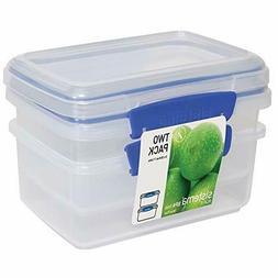 Sistema 1602 Klip It Collection Rectangle Food Storage Cont
