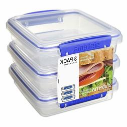 Sistema Klip It Collection Sandwich Box Food Storage Contain