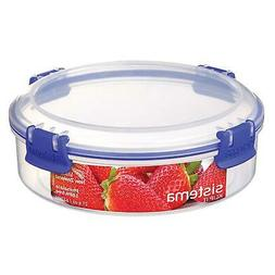 Sistema KLIP IT Round Food Storage Container 640ml - Clear &