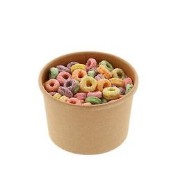 Royal 8 oz. Kraft Paper Food Containers, Package of 25