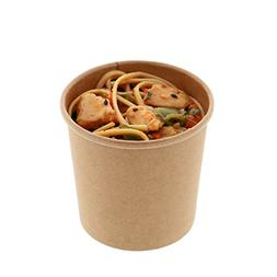 Royal 12 oz. Kraft Paper Food Containers, Package of 25