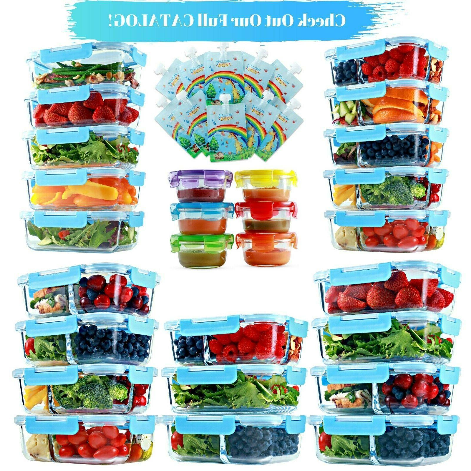 1 & Glass Meal Storage