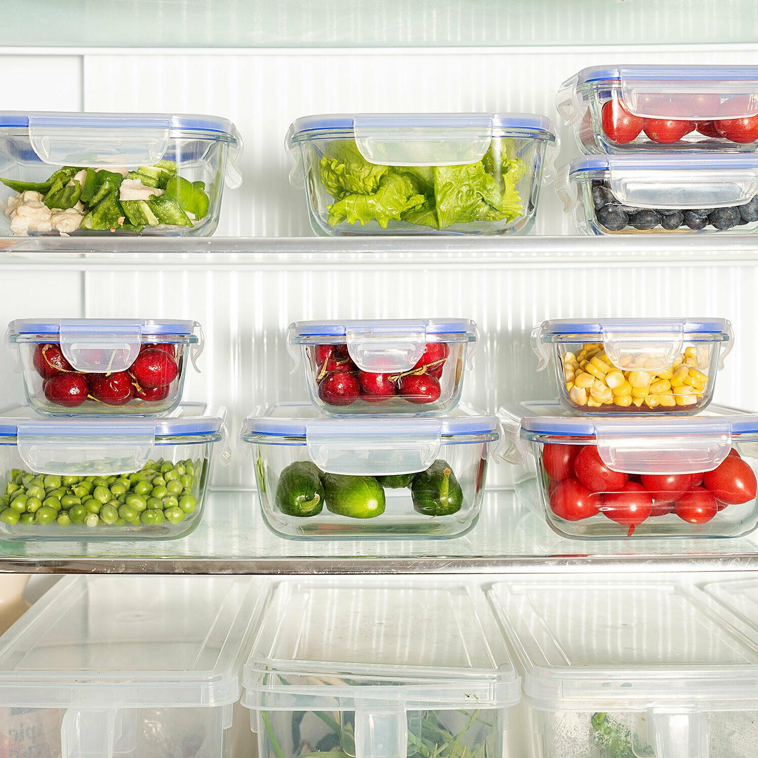 Glass Container Airtight Storage - Lunch