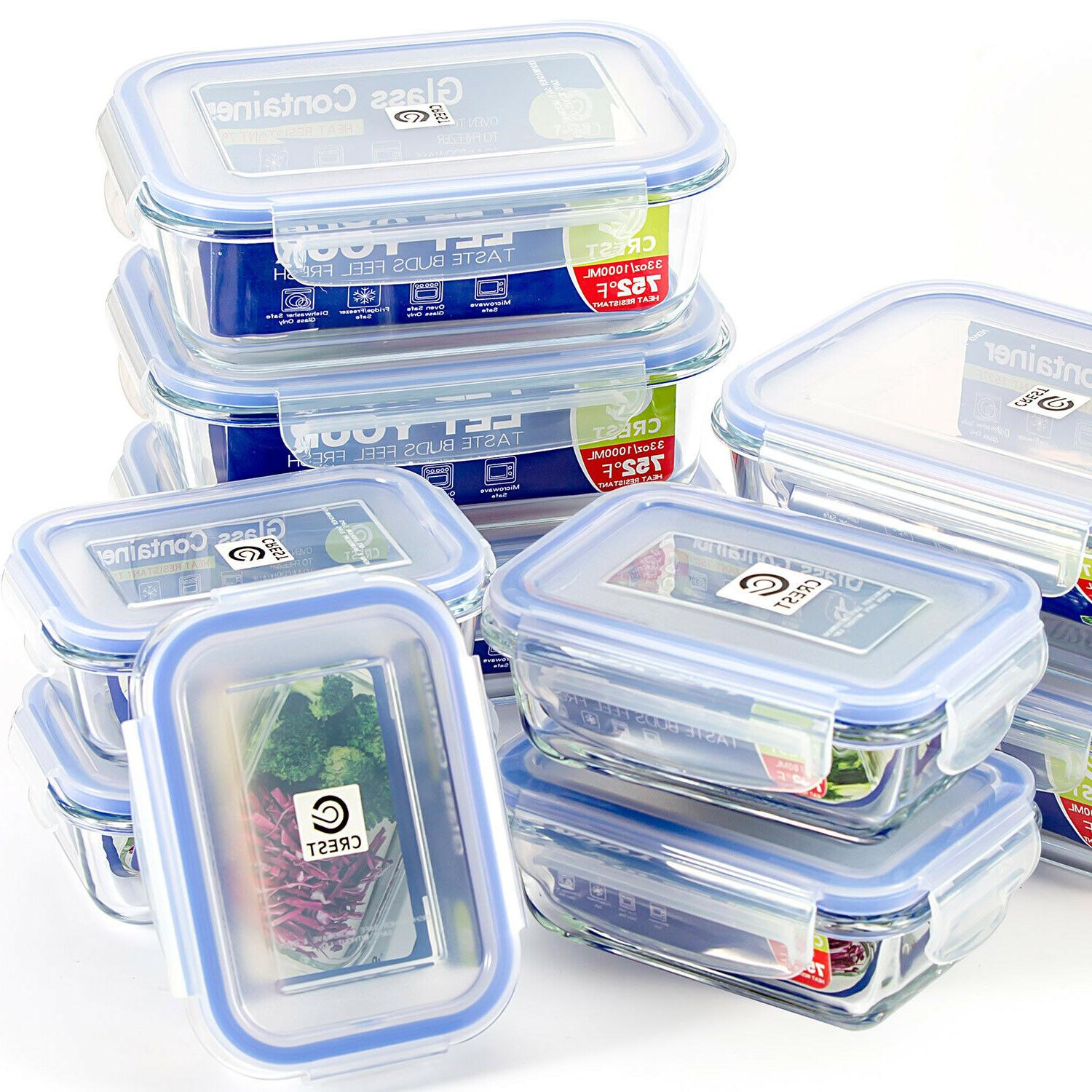 Container Airtight Lids Storage -