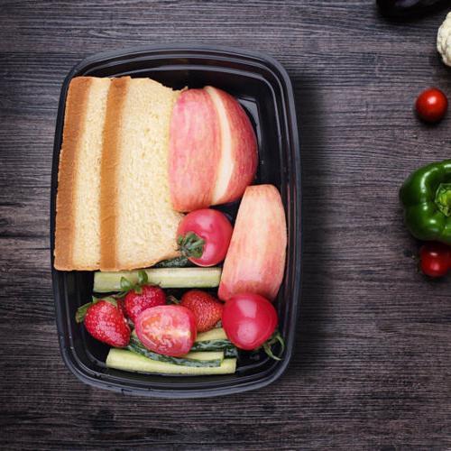 100 Meal Plastic Storage Reusable